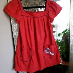 Kate Spade Cape Cod Lobster Dress Size L